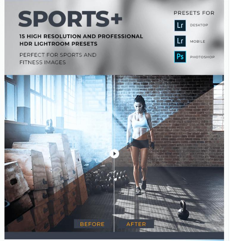 Sports HDR Lightroom Presets