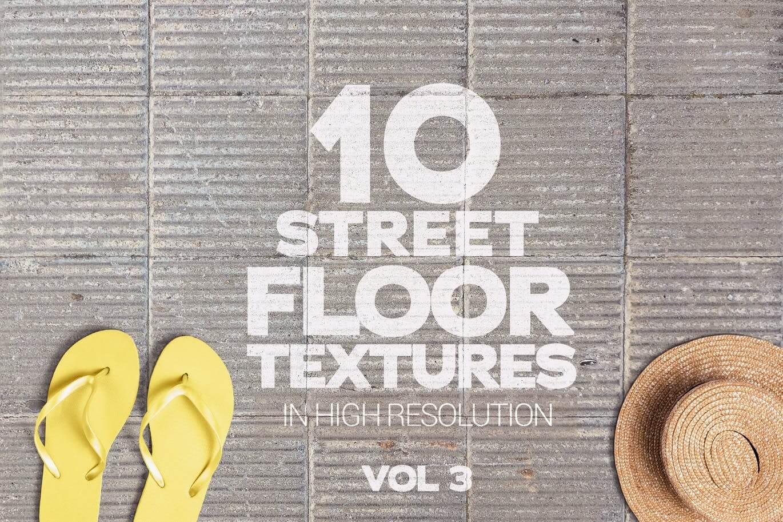 Street Floor Textures x10 Vol.3