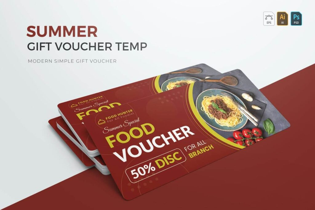 Summer Food Gift Voucher