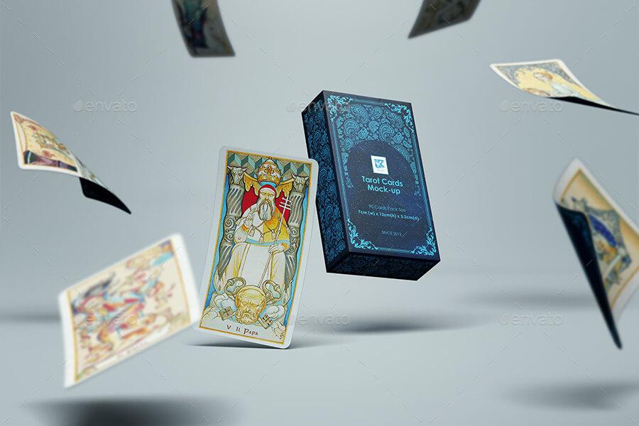 Tarot Cards Mock-up v1