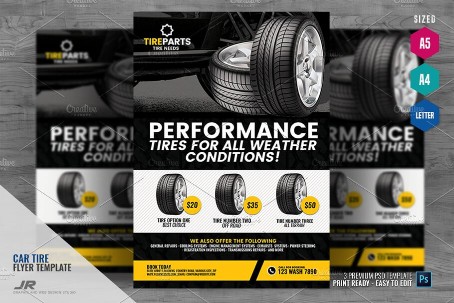 Tire Service Flyer