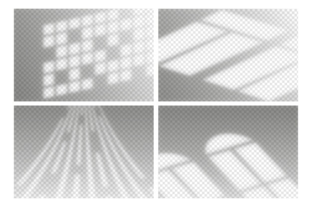 Transparent shadows overlay effect Free Vector (1)
