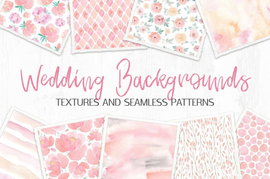 Wedding Backgrounds Textures and Patterns