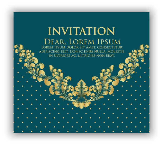 Wedding invitation and announcement