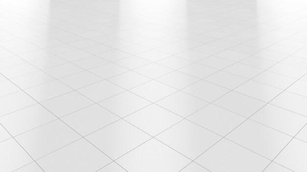 White floor marble clean ceramic tile background Premium Photo