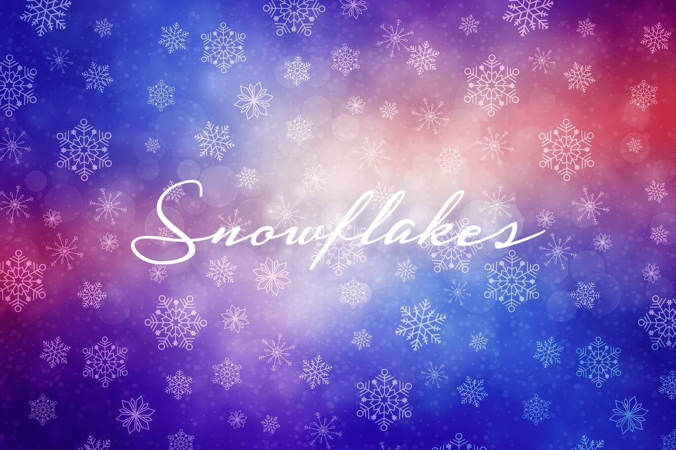 Winter Snowflakes Backgrounds