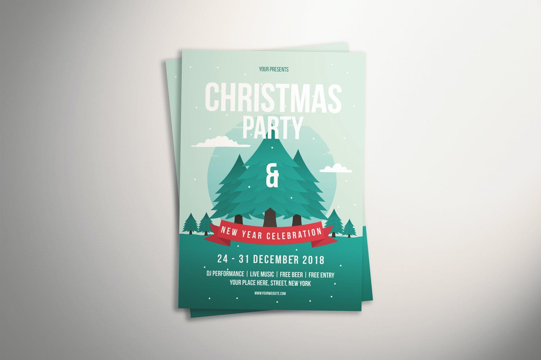Xmas Party Flyer (2)