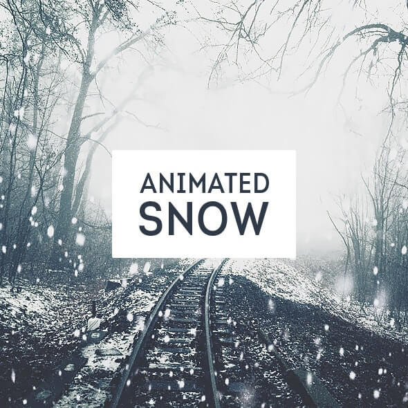 animated snow