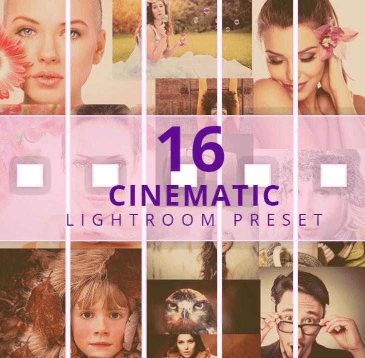 16 Cinematic Effect Lightroom Presets