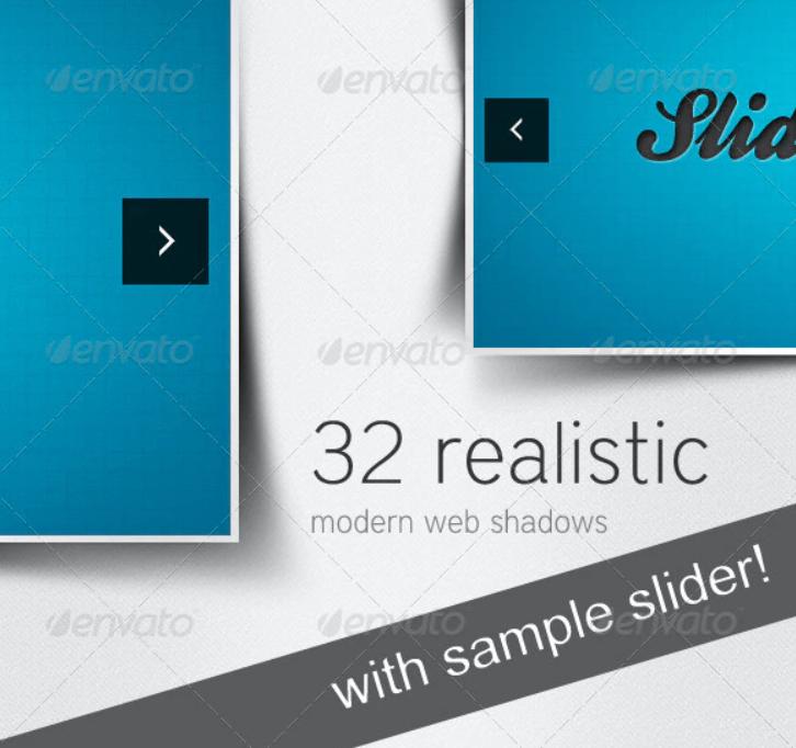 32 Realistic Modern Web Shadows