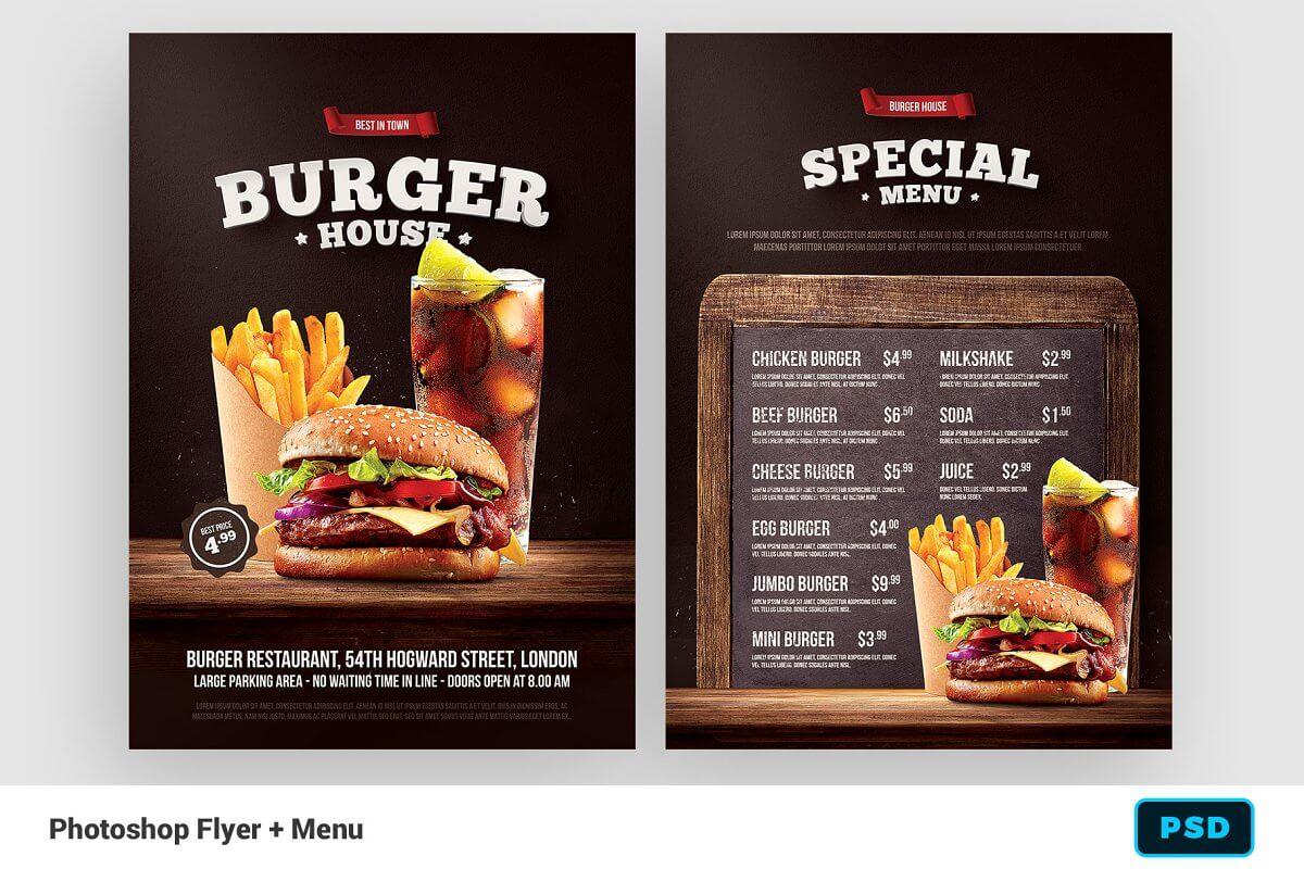 Burger Flyer + Menu (4)