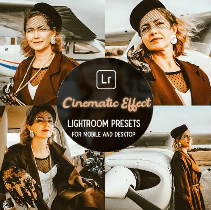 Cinematic Effect - Lightroom Preset