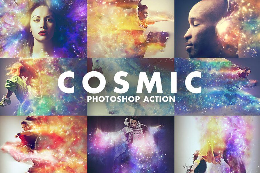 Cosmic Photoshop Action1