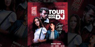 Dj Tour Flyer