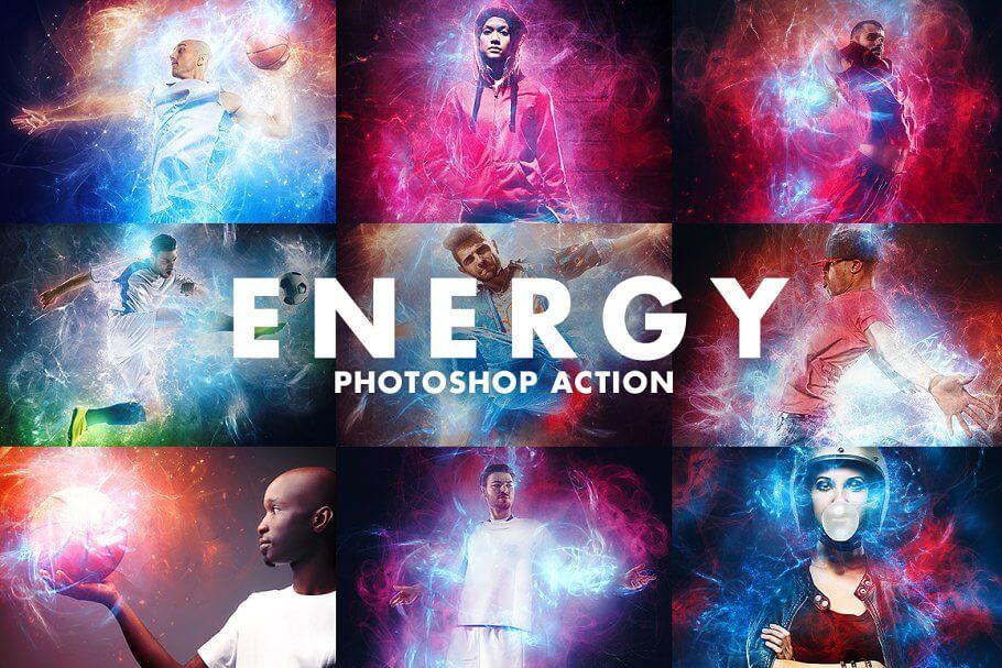 Energy Photoshop Action (1)