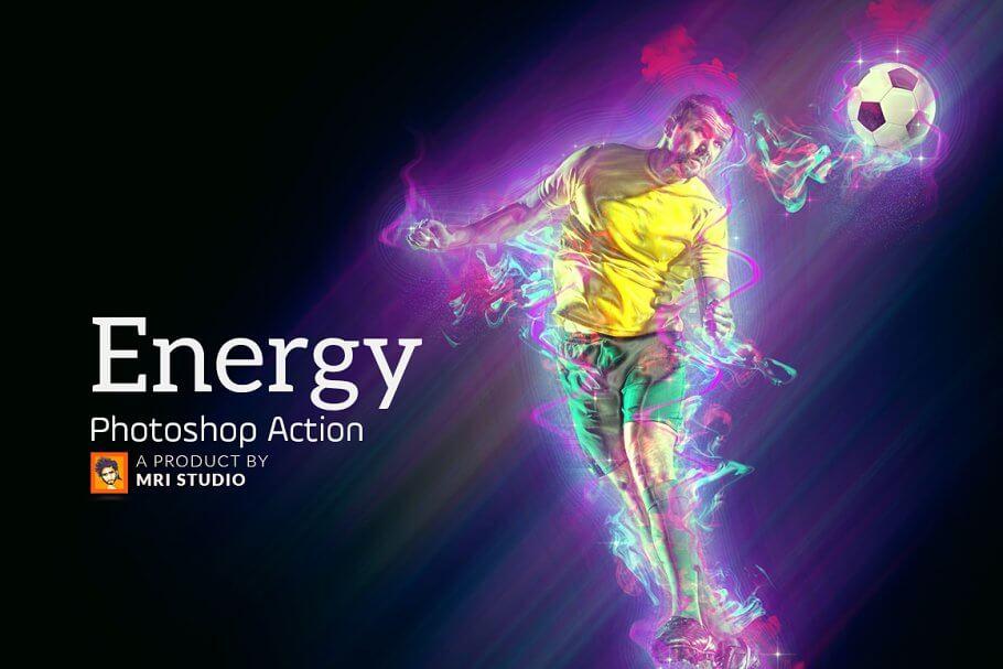 Energy Photoshop Action (2)