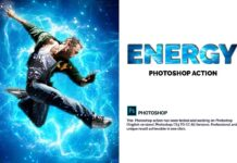 Energy Photoshop Action (4)