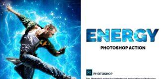 Energy Photoshop Action (4)