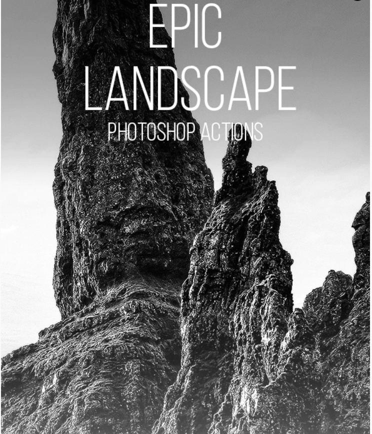 Epic Landscape Photoshop Actions (1)
