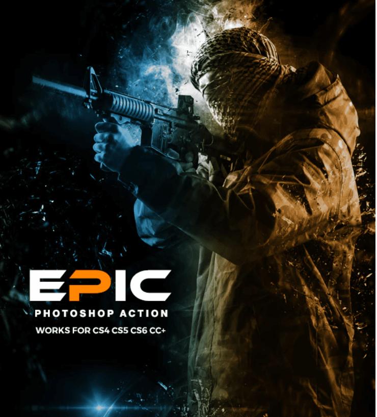 Epic Photoshop Action1