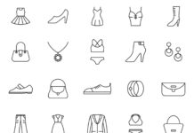 Fashion-Vector-Icons