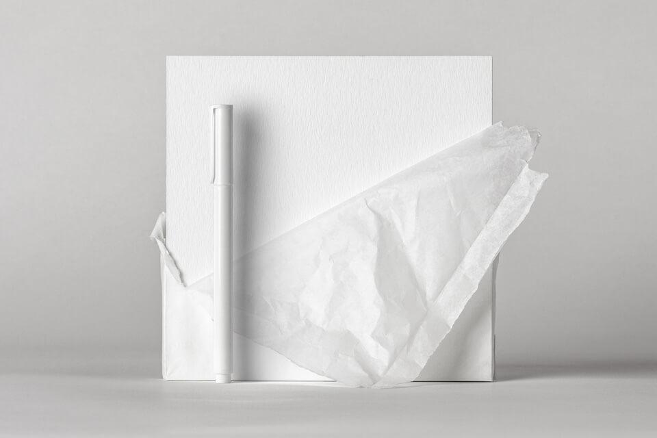 Free Beautiful Square Invitation Card Paper Wrap Mockup PSD Template4
