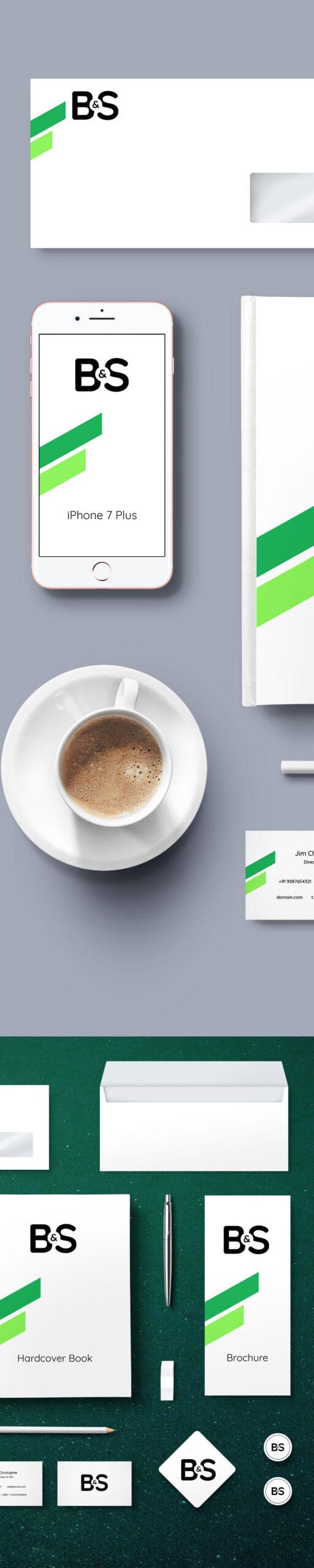 Free Branding & Stationery Mockup PSD Template