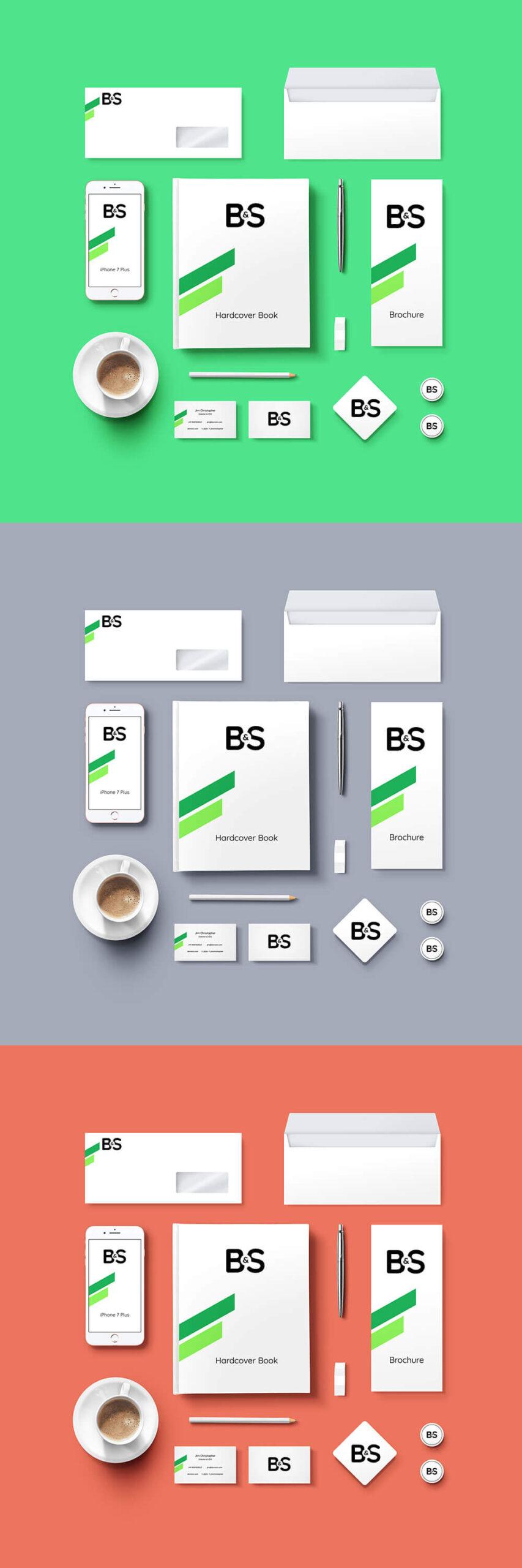 Free Branding & Stationery Mockup PSD Template1
