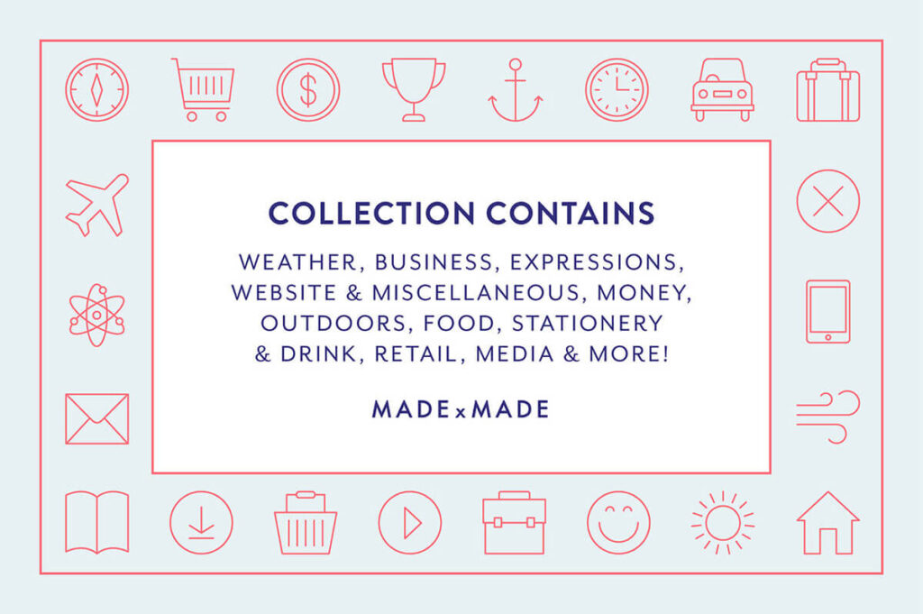 Free Brilliant Collection 60+ Essential Vector Icons1