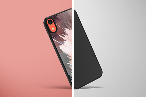 Free Colorful IPhone XR Case Mockups PSD Templates1