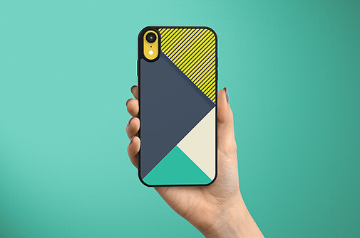 Free Colorful IPhone XR Case Mockups PSD Templates2
