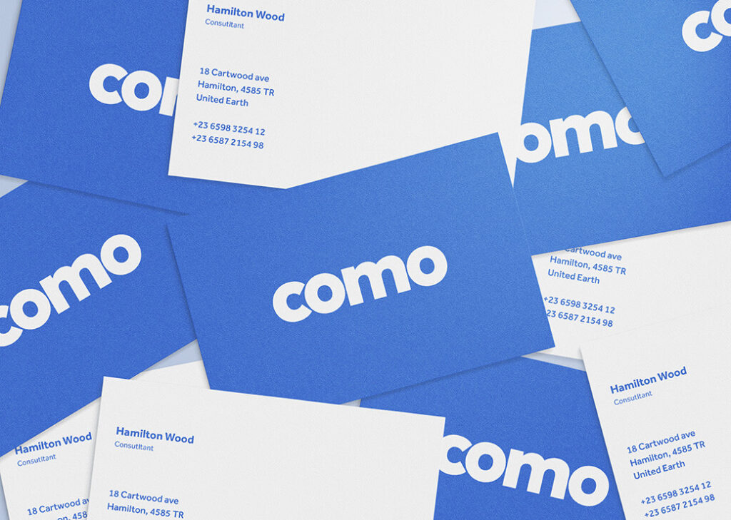 Free Como Stationery Mockup Set PSD Template