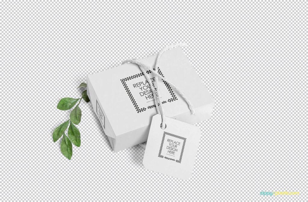 Free Craft Soap Box Mockup PSD Template1