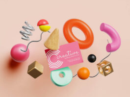 Free Creative Business Card Mockup PSD Template