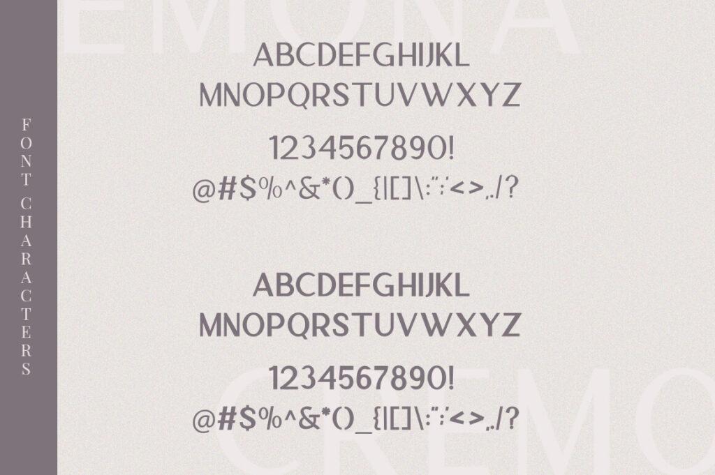 Free Cremona Minimal Sans Serif Font3