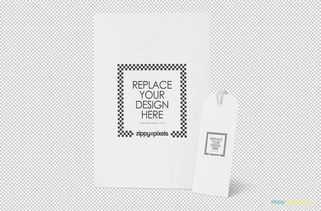 Free Elegant Letter Mockup PSD Template1