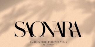 Free Fully Developed MADE Saonara Font Demo