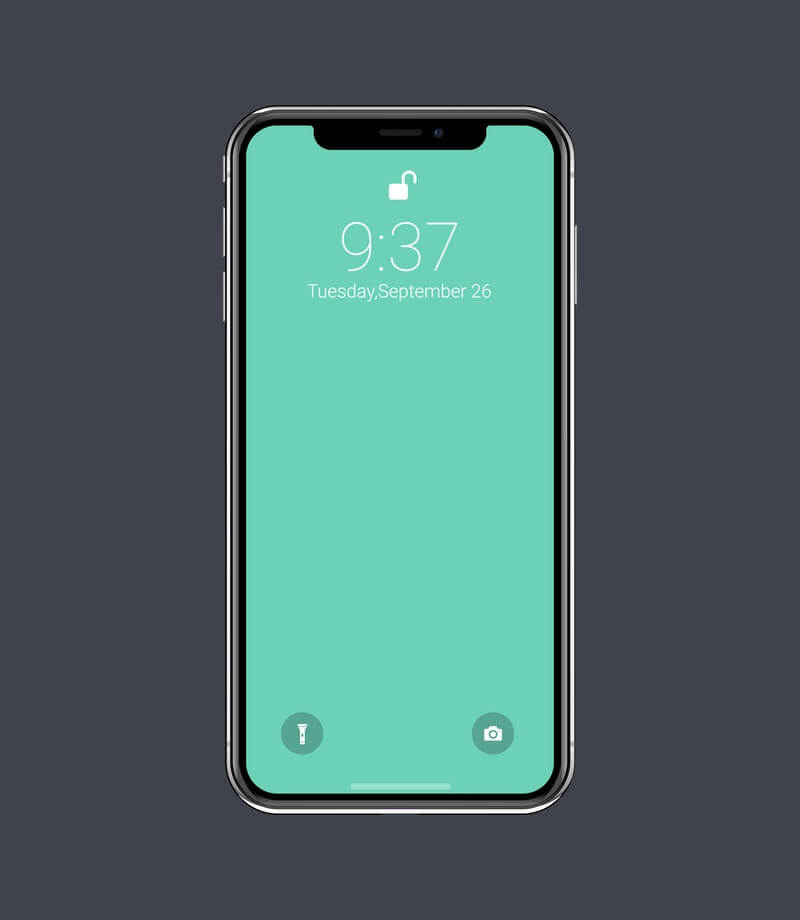 Free Fully Vector iPhone X Mockup PSD Template