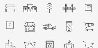 Free Fuzzy 20+ Urban Vector Icons