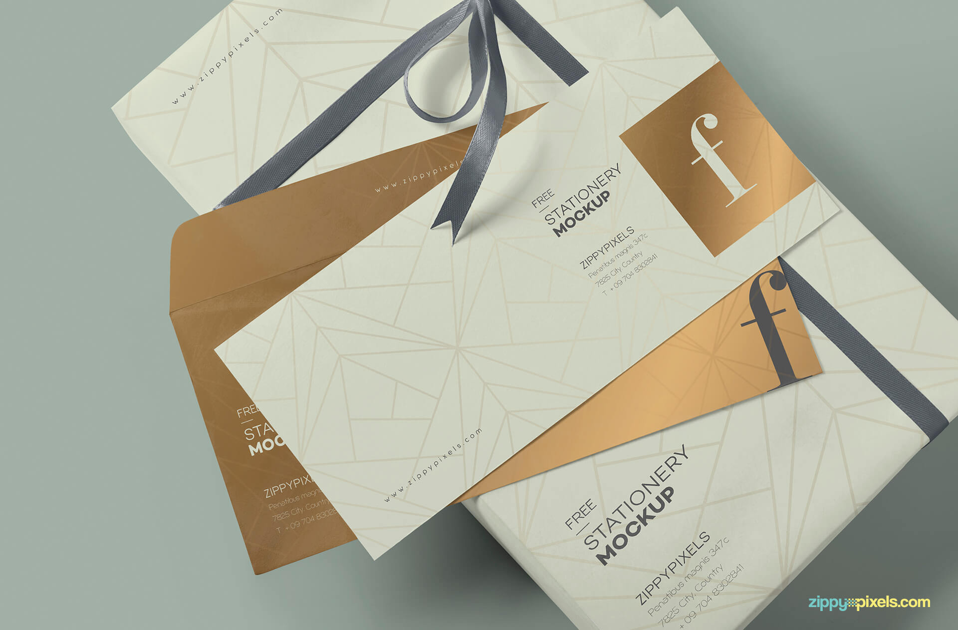 Free Luxury Envelope Mock Up PSD Template2