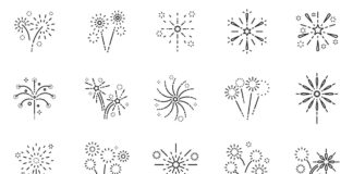 Free Magnificent 20+ Fireworks Vector Icons