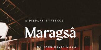 Free Maragsa Display TypefaceFree Maragsa Display Typeface