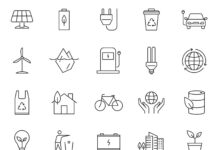 Free Minimal 20 Ecology Vector Icons