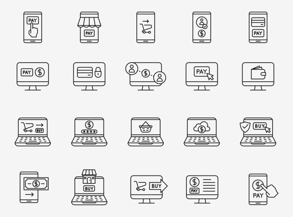 Free Online Payment Vector Icons