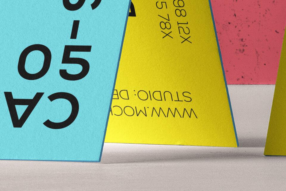 Free Original Business Card Branding Mockup PSD Template2