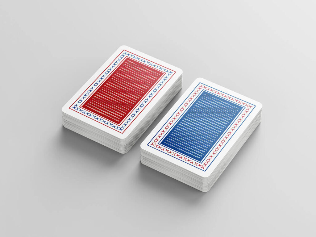 Free Playing Cards Mockup PSD Template2