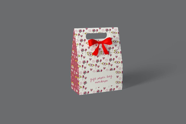 Gift Paper Bag Mockups