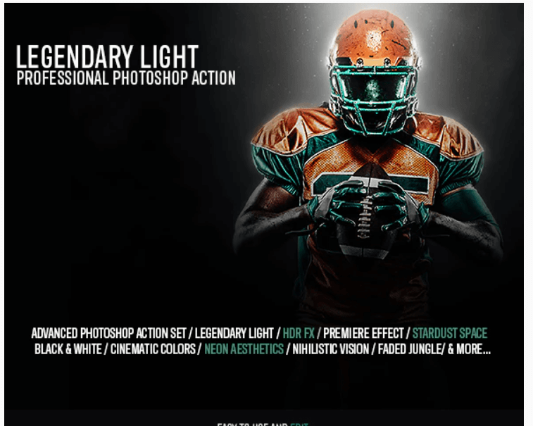 Legendary Light Photoshop