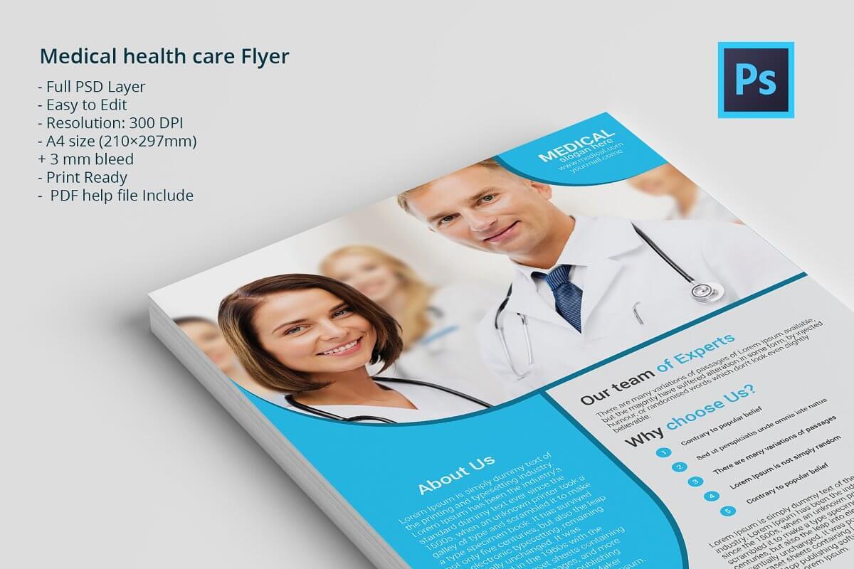 Medical health care Flyer
