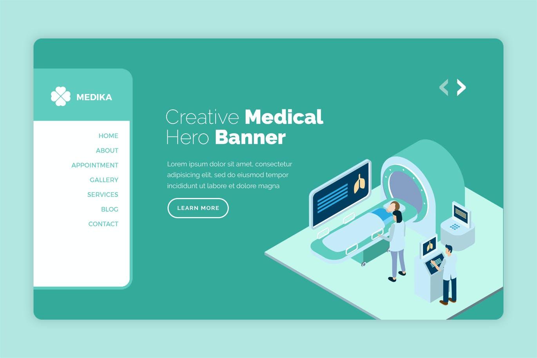 Medika - Health & Medical Hero Banner